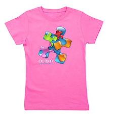 Funny Autism spectrum Girl's Tee