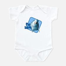 I'm Blue Quaker Baby Bodysuit