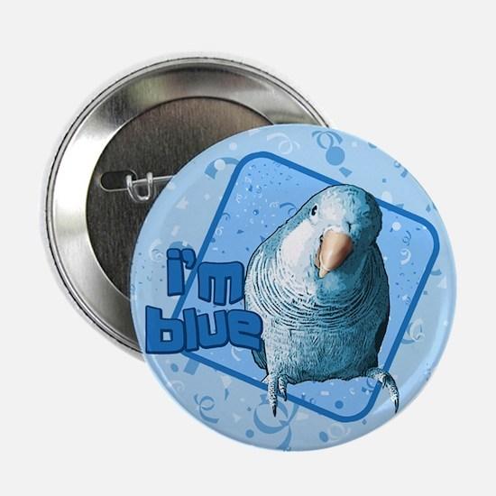 I'm Blue Quaker Button