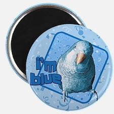 I'm Blue Quaker Magnet