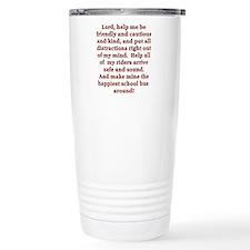 Funny School prayer Travel Mug