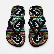Runes Flip Flops