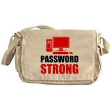 Password Strong Messenger Bag