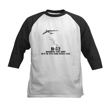 B-52 Whoopass Kids Baseball Jersey