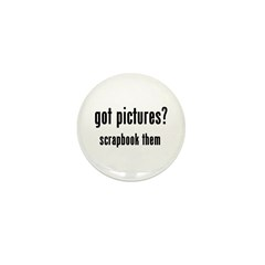 Got Pictures Mini Button (10 pack)