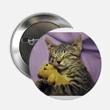 "Daisy the sleeping kitty ca 2.25"" Button (10 pack)"