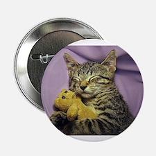 "Daisy the sleeping kitty ca 2.25"" Button (10 pack)"