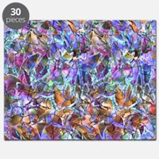 Floral Stained Glass 2 Puzzle
