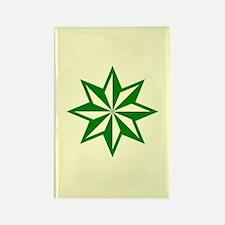 Green Guiding Star Rectangle Magnet