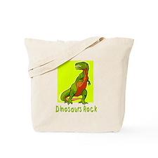 Dinosaurs Rock Tote Bag