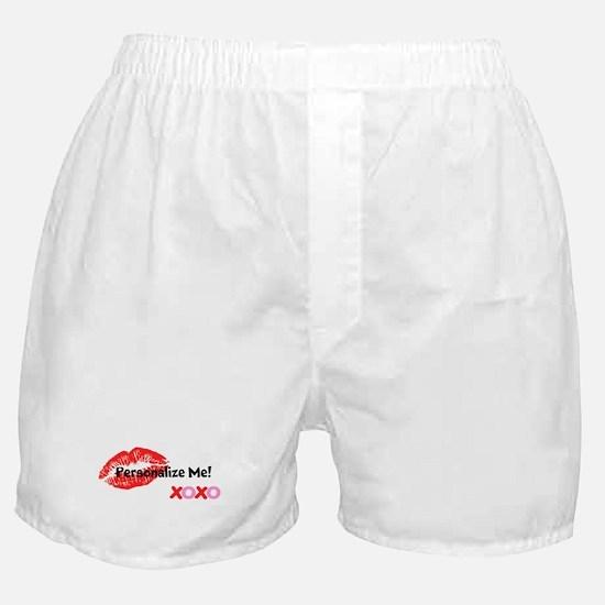 Valentine Hot Lips Boxer Shorts