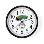 Cruising 66 Wall Clock