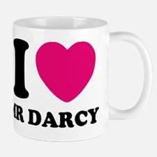 I HEART Mr. DARCY PINK Small Small Mug