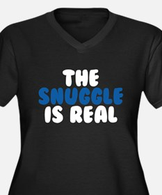 The Snuggle Is Real Plus Size T-Shirt