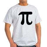 Pi irrational Mens Light T-shirts