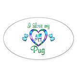 Pug dog 10 Pack
