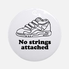No strings attached Ornament (Round)