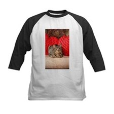 Sweetheart Daisy Valentine kitty c Baseball Jersey