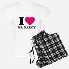 I HEART Mr. DARCY PINK Pajamas