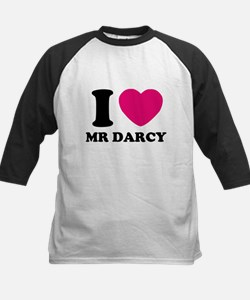 I HEART Mr. DARCY PINK Baseball Jersey