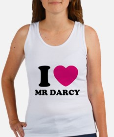 I HEART Mr. DARCY PINK Tank Top