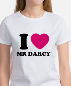 I HEART Mr. DARCY PINK T-Shirt