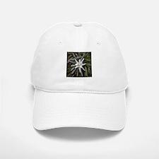 White Alpine Edelweiss Flower Baseball Baseball Cap