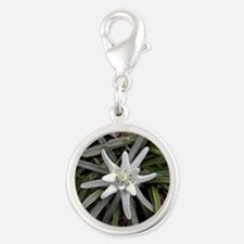 White Alpine Edelweiss Flower Charms