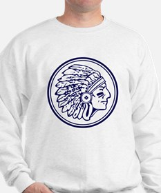 Warrior Head  Sweatshirt