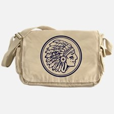 Warrior Head  Messenger Bag