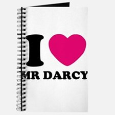 I HEART Mr. DARCY PINK Journal