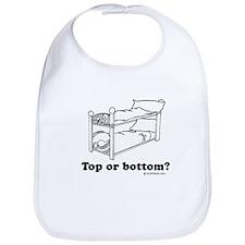 Top or bottom? Bib