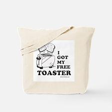 I got my free toaster Tote Bag