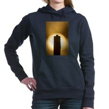 AAA Battery silhouette a Women's Hooded Sweatshirt