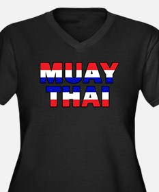 Muay Thai 001 Plus Size T-Shirt