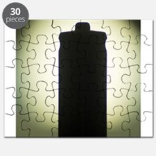 AAA Battery silhouette art photo Puzzle