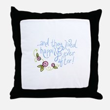 FAIRYTALE ENDING Throw Pillow