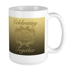 30th Wedding Anniversary Mugs