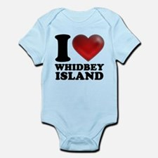 I Heart Whidbey Island Body Suit