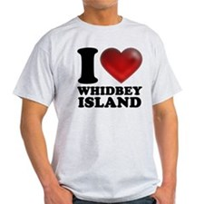 I Heart Whidbey Island T-Shirt
