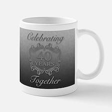 40th Wedding Anniversary Mugs