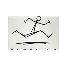 RUNBITCH Rectangle Magnet