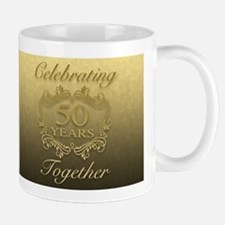 50th Wedding Anniversary Mugs