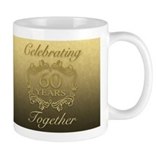 60th Wedding Anniversary Mugs