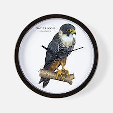Bat Falcon Wall Clock