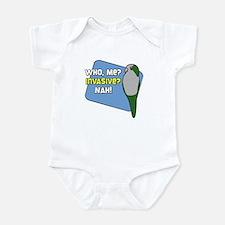 Invasive Quaker Parrot Baby Bodysuit