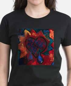 Fiery Heart T-Shirt