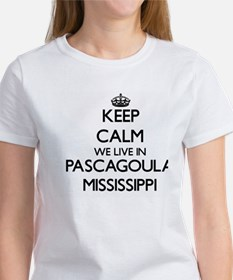 Keep calm we live in Pascagoula Mississipp T-Shirt
