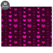 Violet Hearts Puzzle