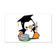 Graduation Penguin Wall Decal